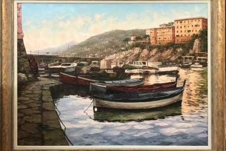 Camogli - GE - Olio 120x90