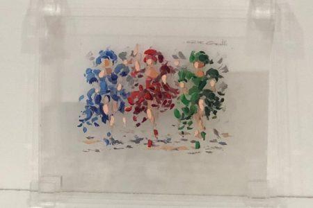 Cancan - scomposizione visica tinte pastello 37x33