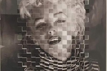 Marilyn - scomposizione visiva 36x36