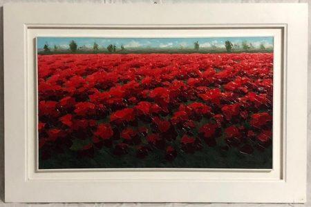 Rosso Papavero - Olio - 45x80